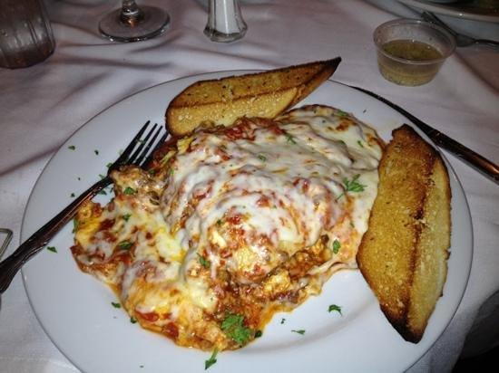 Hazelwood Inn: Huge Lasagna Dish