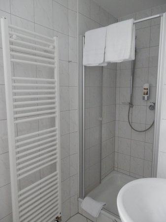 Theis-Mühle Hotel: Salle de bain
