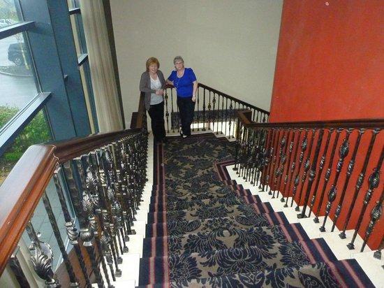 إيريجال كانتري هاوس هوتل: sweeping stairs