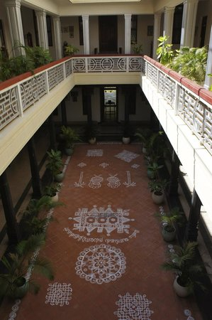 ‪‪Visalam‬: Interior courtyard‬