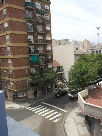 La Casa de Maria Tango:                   View from the terrace