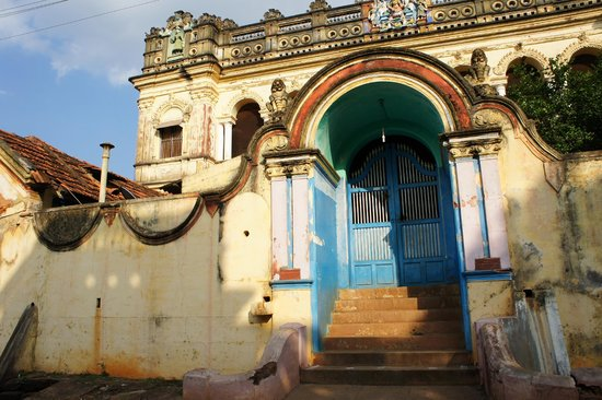 Visalam: Chettinar mansion in the village