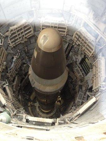 Titan Missile Museum: Titan Missile in the silo