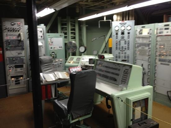 Titan Missile Museum: The control room