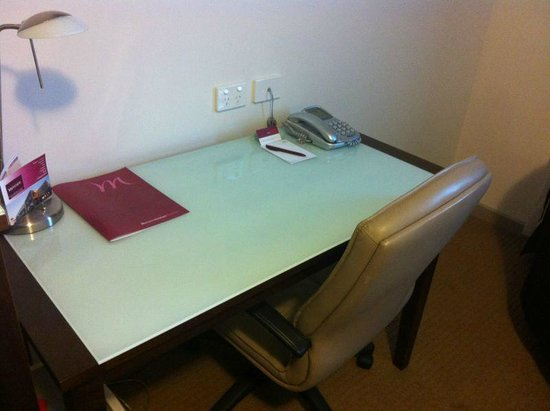 Horsham International Hotel:                                     Work area