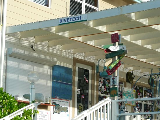 Divetech at Cobalt Coast Resort.
