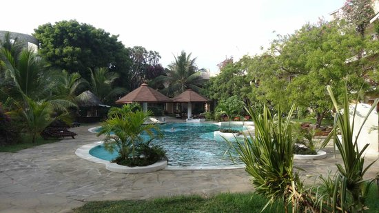 Aquarius Watamu Beach Resort:                   Piscina relax