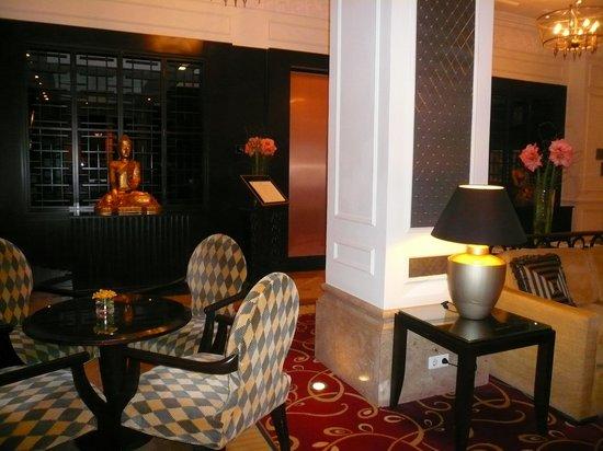 Corinthia Hotel Budapest: salotto