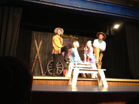 Pinecone Playhouse at Mack's Inn Resort :                   Cowboys and Petticoats