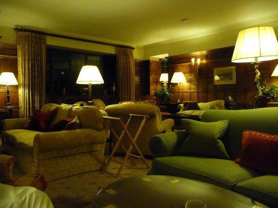 Gidleigh Park Hotel:                   Lounge