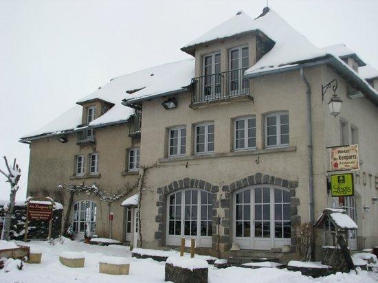 Hôtel des Remparts : vue de la façade