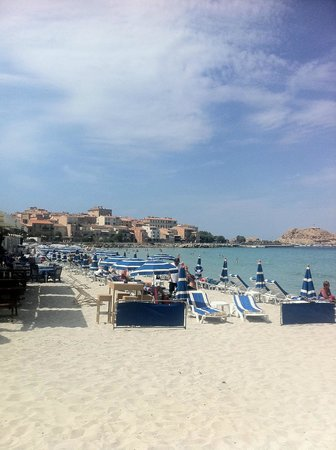 Restaurant le Marinella: The beach!