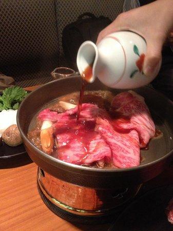 Seryna:                   Perfect sukiyaki