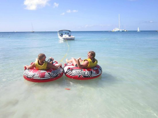 Sandals Negril Beach Resort & Spa:                   tubing
