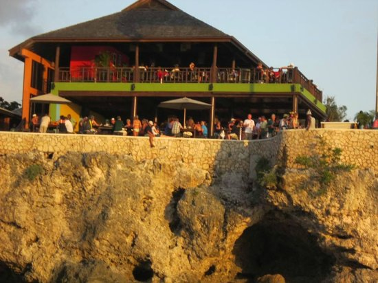 Sandals Negril Beach Resort & Spa:                   Ricks Cafe