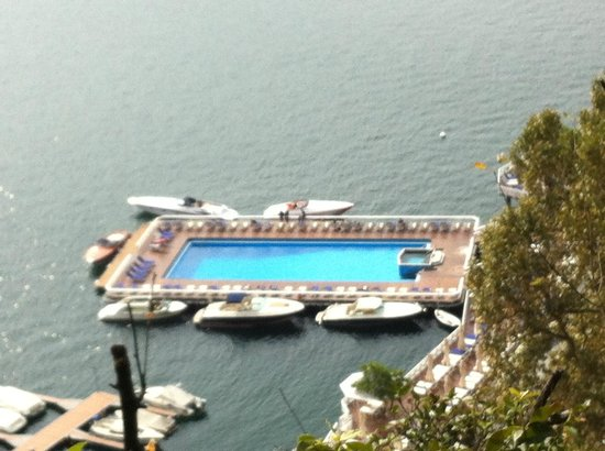 Villa d'Este: Floating Hotel Pool