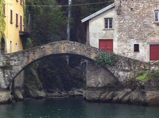 Villa d'Este: Ancient Roman Bridge Across from Cernobbio