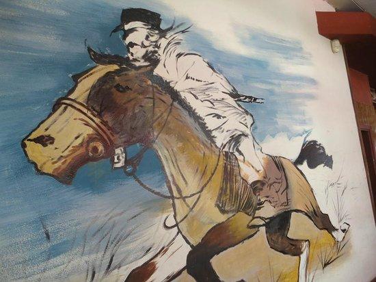 Babieca Restaurante y Parrillada: Wall art