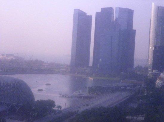 โรงแรมแฟร์มอนท์ สิงคโปร์:                   Room with a view