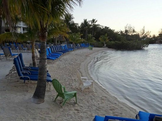 Key Largo Bay Marriott Beach Resort:                   Private Beach