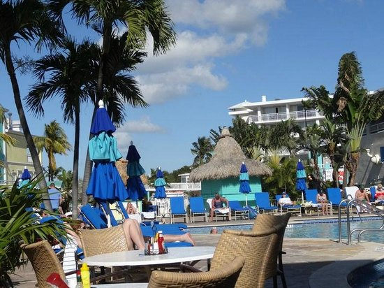 Key Largo Bay Marriott Beach Resort:                   Pool Area and grounds