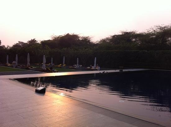 The Oberoi - TEMPORARILY CLOSED:                   outside pool
