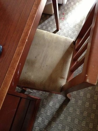 Americas Best Value Inn and Suites Stockbridge/Atlanta:                                                       All chairs were pretty stained.