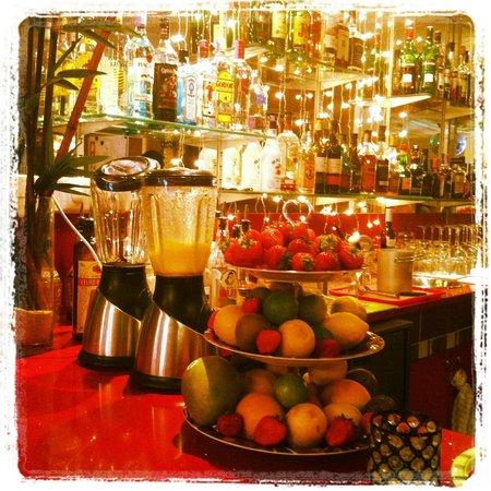 Bar Talvez:                   Fresh fruit for their delicious cocktails
