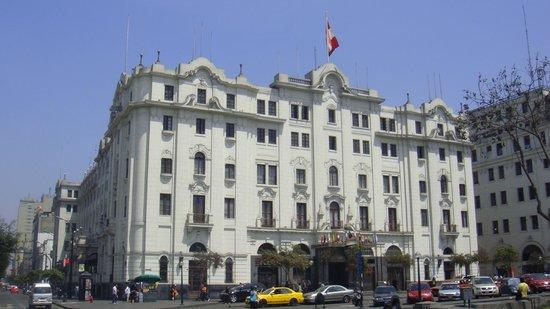 Gran Hotel Bolivar Esterno Su Plaza San Martin