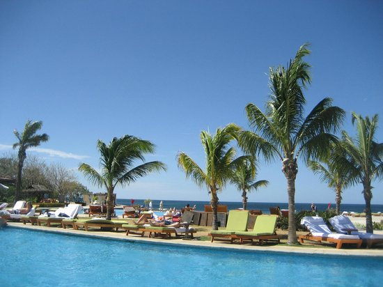 JW Marriott Guanacaste Resort & Spa:                   day 1 at the pool- pre tour groups