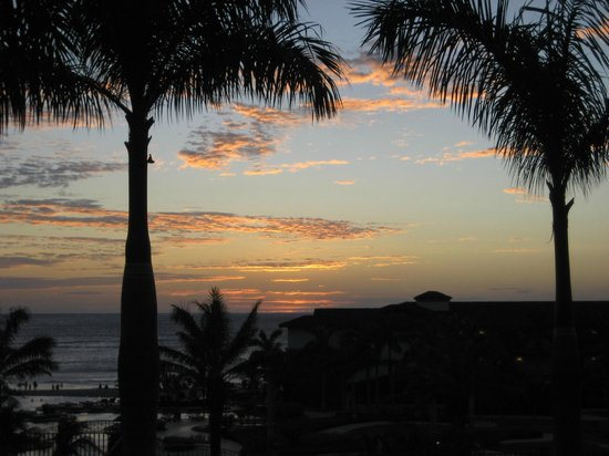 JW Marriott Guanacaste Resort & Spa:                   sunset