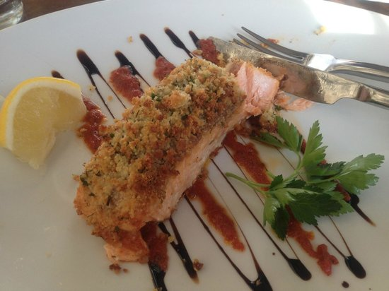 Corner Note Cafe:                   salmon