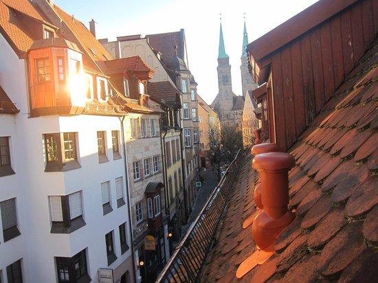 Hotel Elch: vista dalla camera