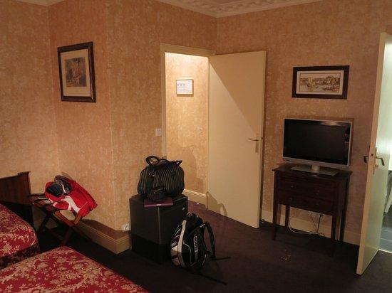 Hotel du Manoir: chambre