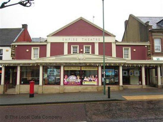 Empire Theatre & Cinema:                   Empire Theater, Consett, Co.Durham