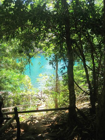 Discovery Island Resort and Dive Center :                   kayangan lake