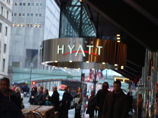 Grand Hyatt New York:                   The Outside