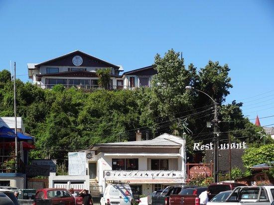 Hotel Boutique Ignacia Villoria:                   The hotel on a small hill