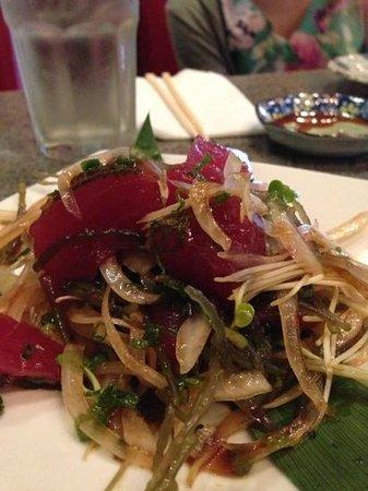 Chiba Ken:                   Outstanding tuna poke