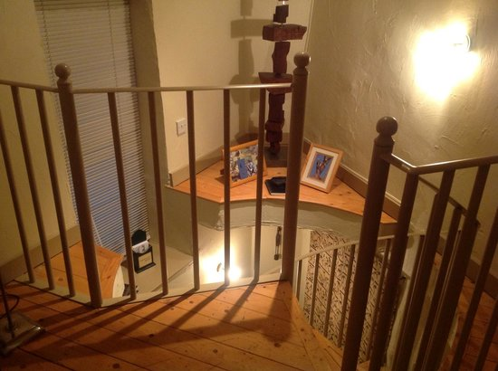 Tom's Barn and Douglas's Barn:                   Staircase in Douglas's barn