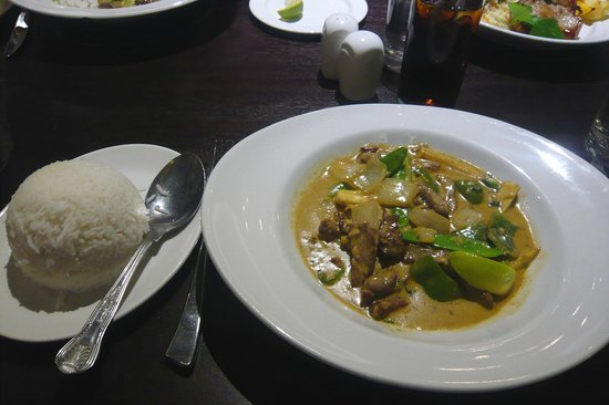 Viscount: Thai Green Beef Curry