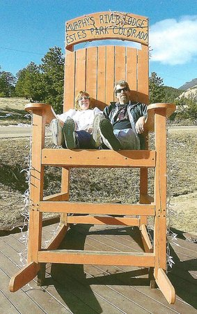 Murphy's River Lodge:                   the big chair