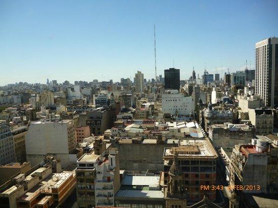 InterContinental Hotel Buenos Aires: vista al norte de buenos aires