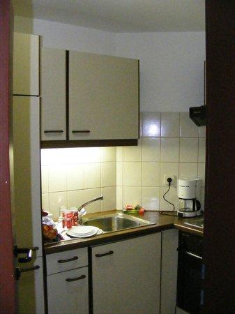 Ferienhotel Kaltschmid: the nice little kitchen