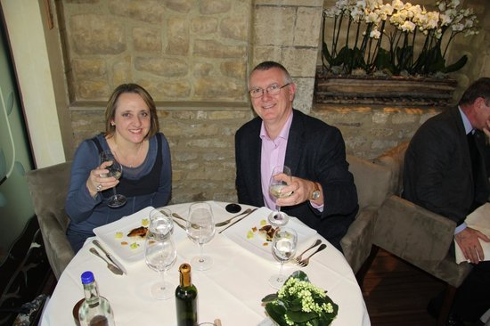 Belmond Le Manoir aux Quat'Saisons: Birthday party!