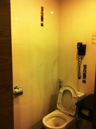 Grand Borneo Hotel:                   The potty area