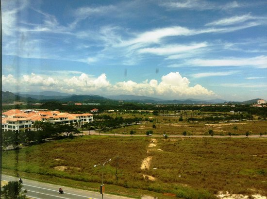 Grand Borneo Hotel:                   Beautiful view from the room