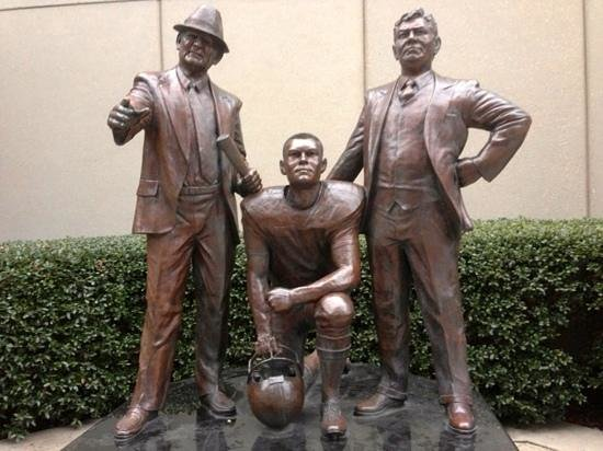 Alabama Sports Hall of Fame and Museum:                   Bear and some guys