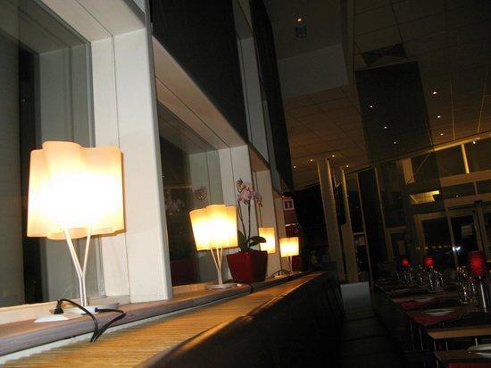 Novotel Brugge Centrum:                   В ресторане                 