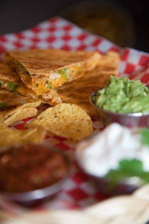 Burrito Grill: Shredded Yam Quesadilla. House Made Guacamole!